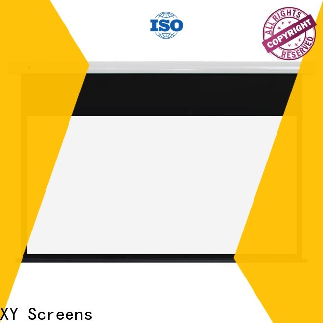 XY Screens tab tensioned projector screen supplier for household