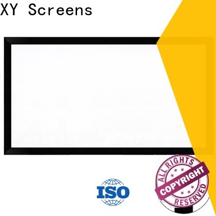 XY Screens Commercial Fixed Frame Projector Screens inquire now for company