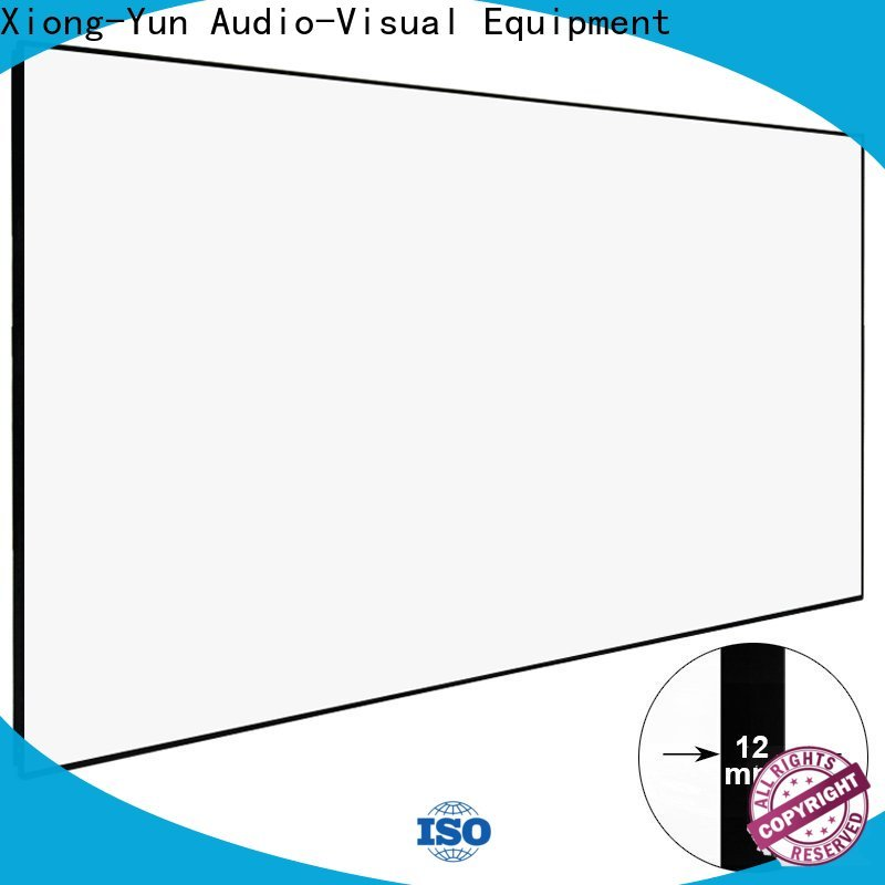 XY Screens white hd projector screen series for home