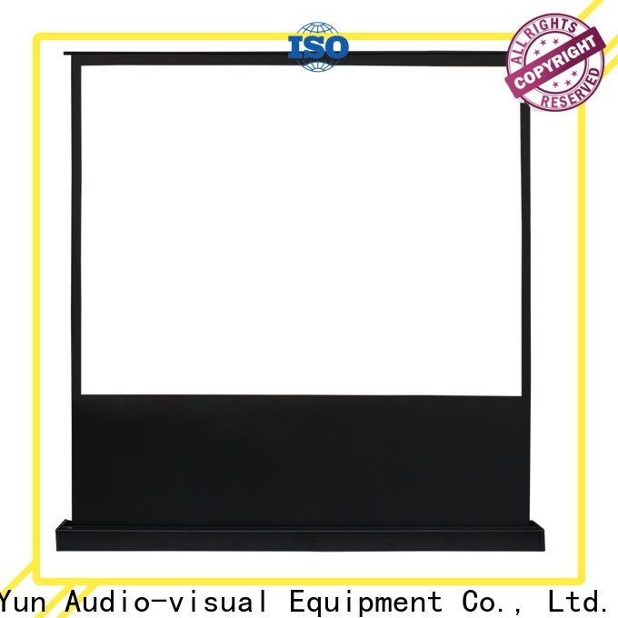 XY Screens pull up projector screen with good price for household