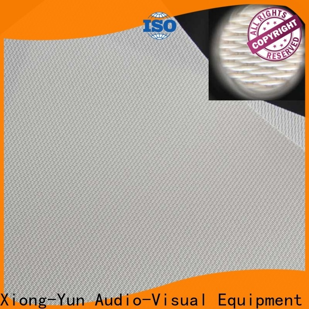 metallic best acoustically transparent screen manufacturer for projector screen