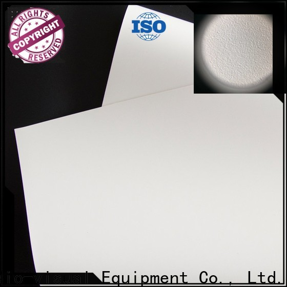 durable front fabrics factory for thin frame projector screen
