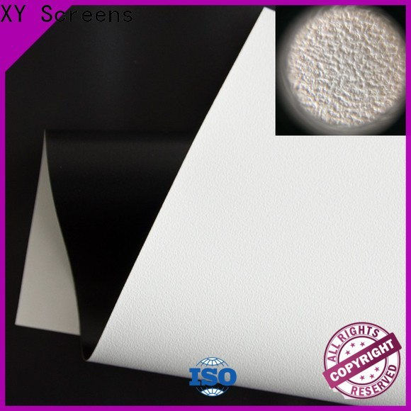XY Screens normal front fabrics factory for motorized projection screen