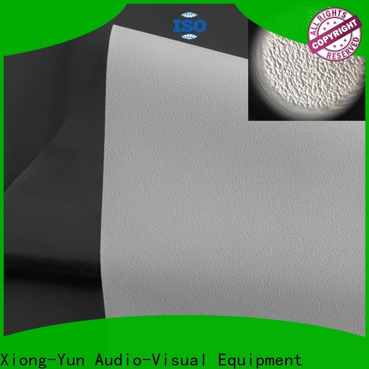 durable front fabrics inquire now for fixed frame projection screen