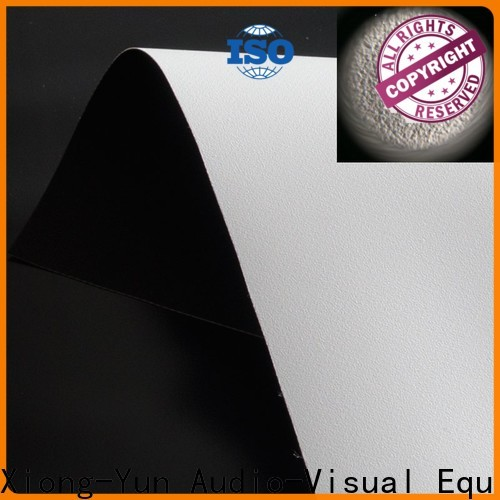 hard screen projector screen fabric china with good price for fixed frame projection screen