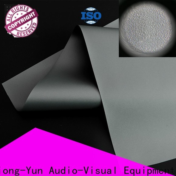 XY Screens best projector screen material series for thin frame projector screen