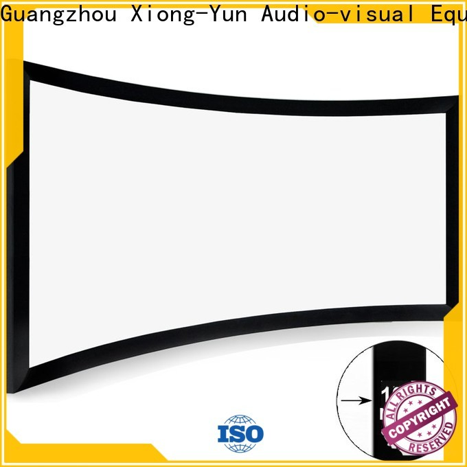 XY Screens curved projector screen diy manufacturer for indoors