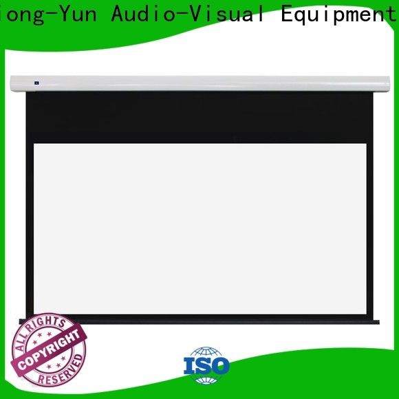 durable motorised projector screen supplier for home