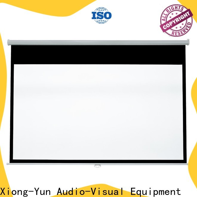 XY Screens pull down projector screen with good price for students