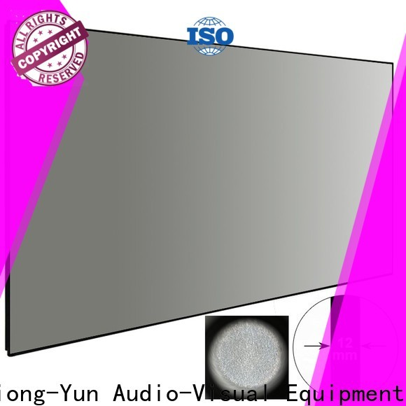 XY Screens easy installation ambient light projector wholesale for indoors