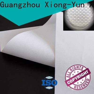 XY Screens hard projector screen fabric design for thin frame projector screen