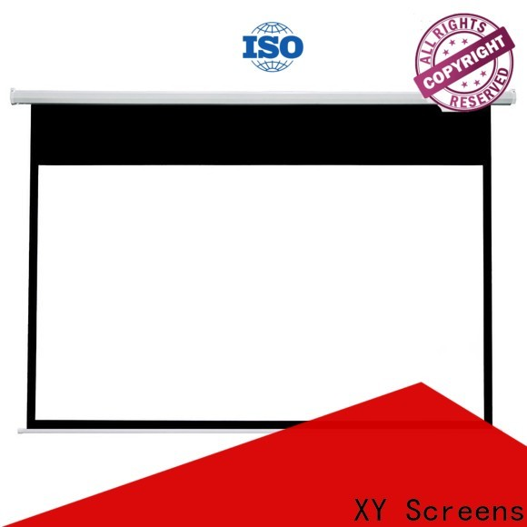 XY Screens Home theater projection screen factory price for home
