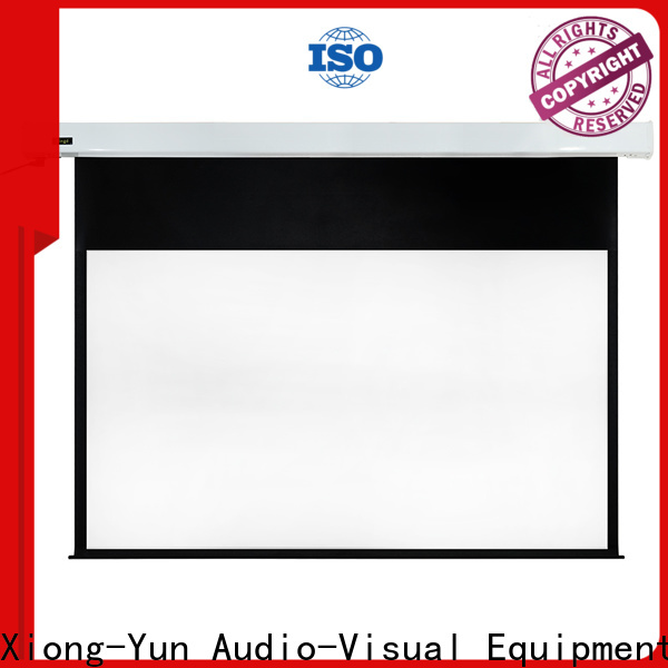 XY Screens motorized projector screen factory price for indoors