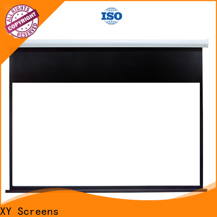 XY Screens motorized projector screen wholesale for indoors