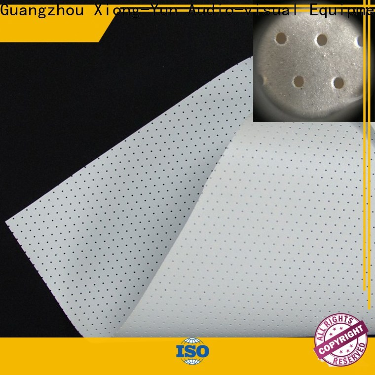 transparent Acoustically Transparent Fabrics from China for fixed frame projection screen