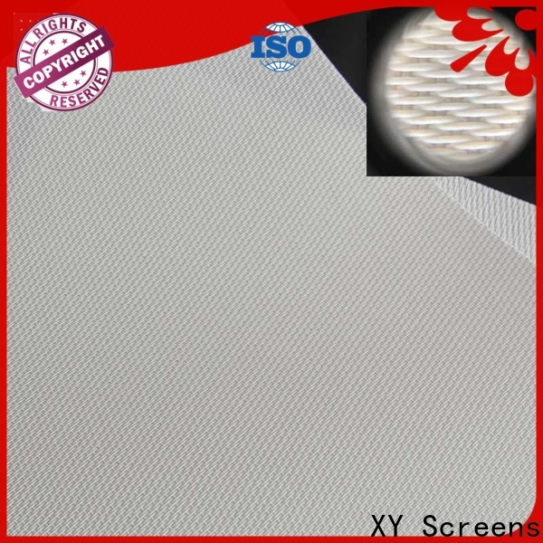transparent acoustically transparent screen manufacturer for thin frame projector screen