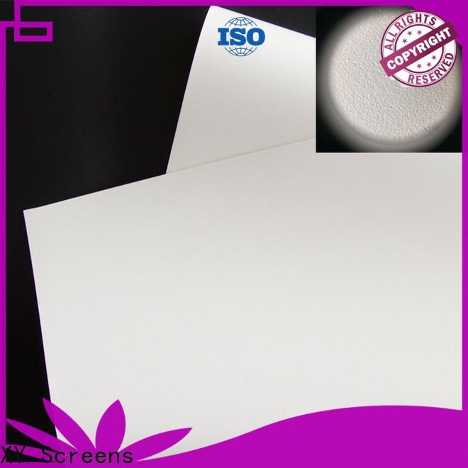 professional front and rear fabric factory for projector screen