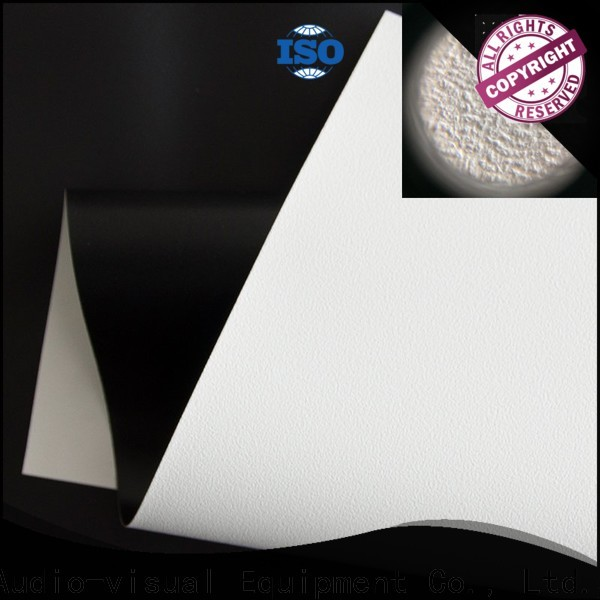 XY Screens standard front fabrics with good price for projector screen
