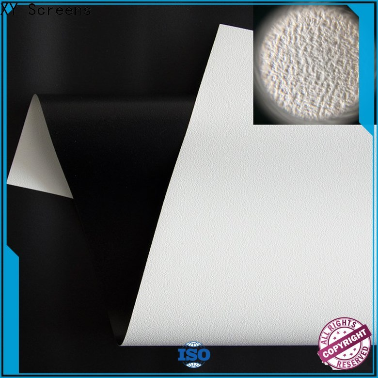 metallic projector fabric with good price for thin frame projector screen