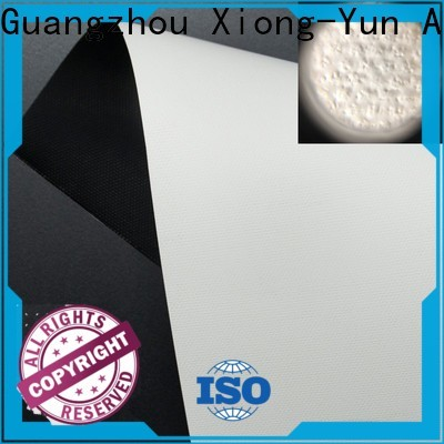 XY Screens projector screen fabric china with good price for motorized projection screen
