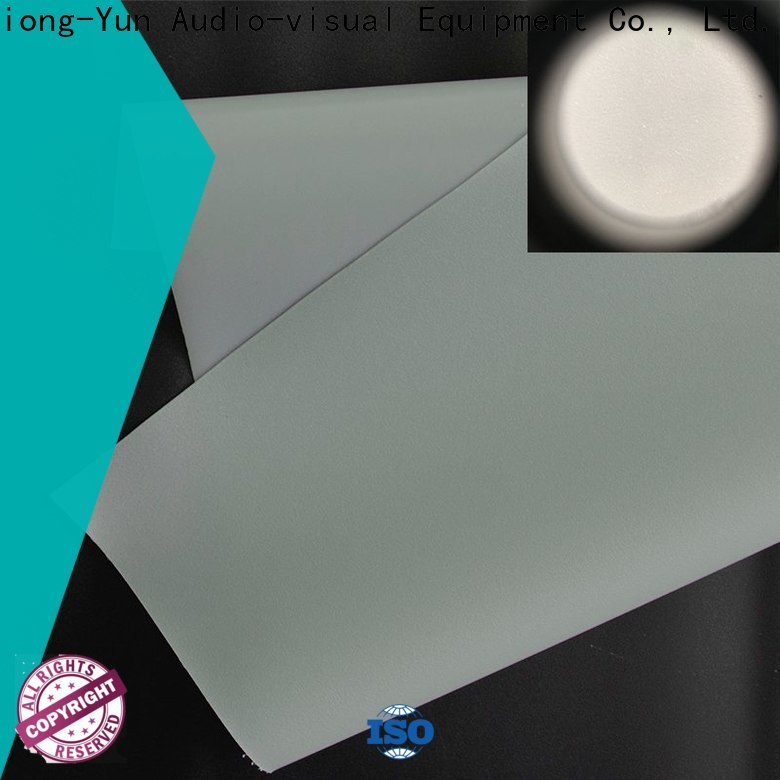 transparent Rear Fabrics with good price for projector screen