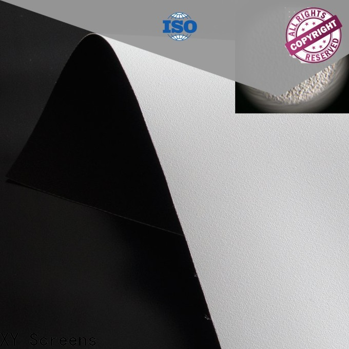 XY Screens standard projector screen fabric china with good price for projector screen