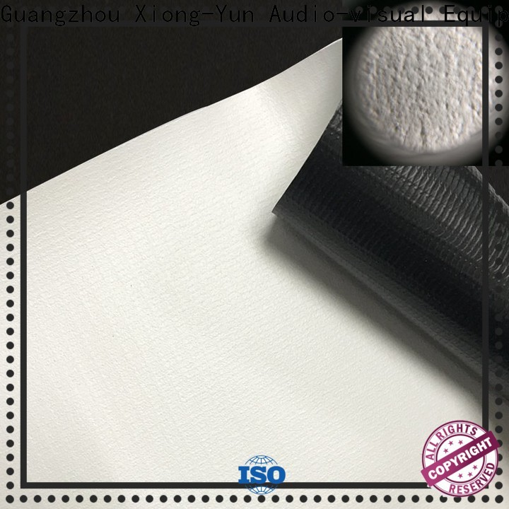 XY Screens metallic front and rear fabric with good price for projector screen
