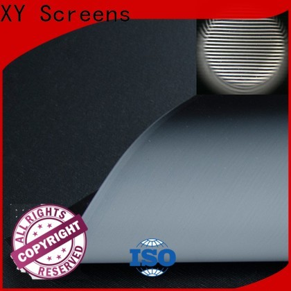 professional projector screen fabric from China for fixed frame projection screen