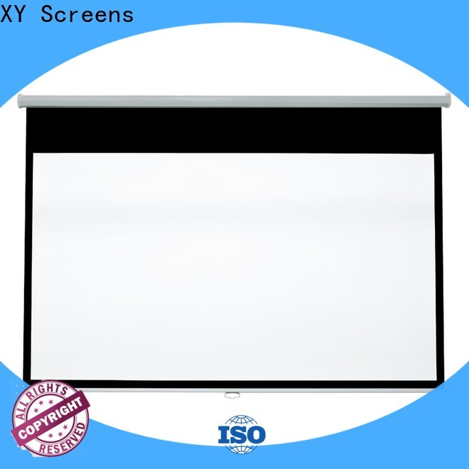 XY Screens pull down projector screen with good price for school