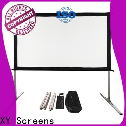 curved outdoor retractable projector screen wholesale