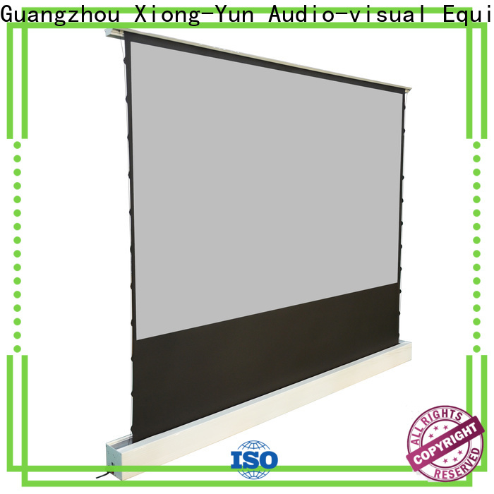 XY Screens manual pull up projector screen with good price for indoors