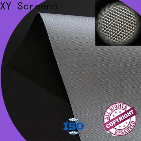 XY Screens professional Ambient Light Rejecting Fabrics series for thin frame projector screen