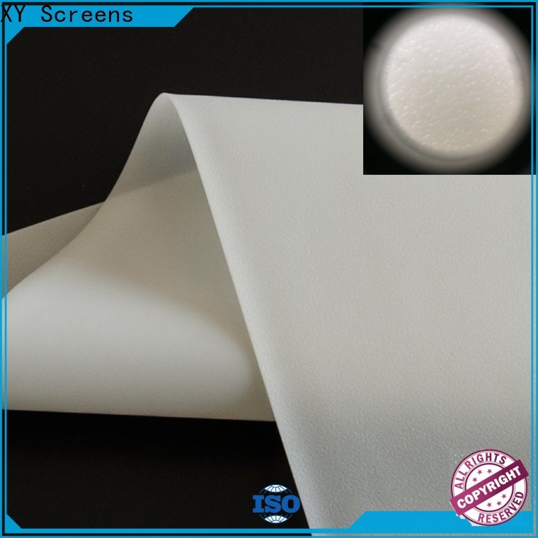 flexible rear projection screen material with good price for thin frame projector screen