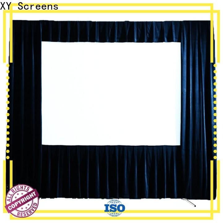 XY Screens outdoor retractable projector screen wholesale for outdoor