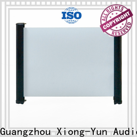 XY Screens tabletop projector factory price for indoors
