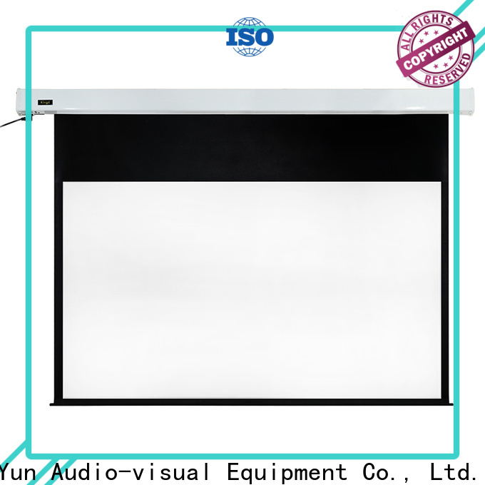 XY Screens retractable motorized screens factory price for home
