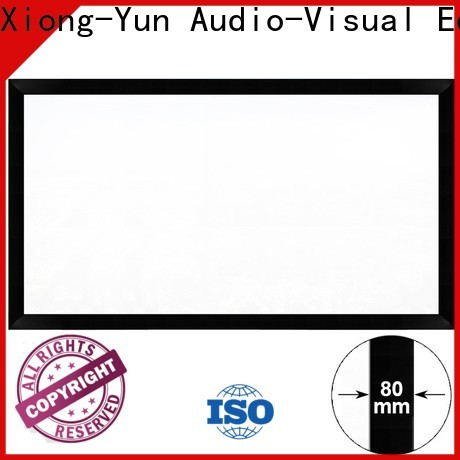 XY Screens thin movie projector price supplier for home