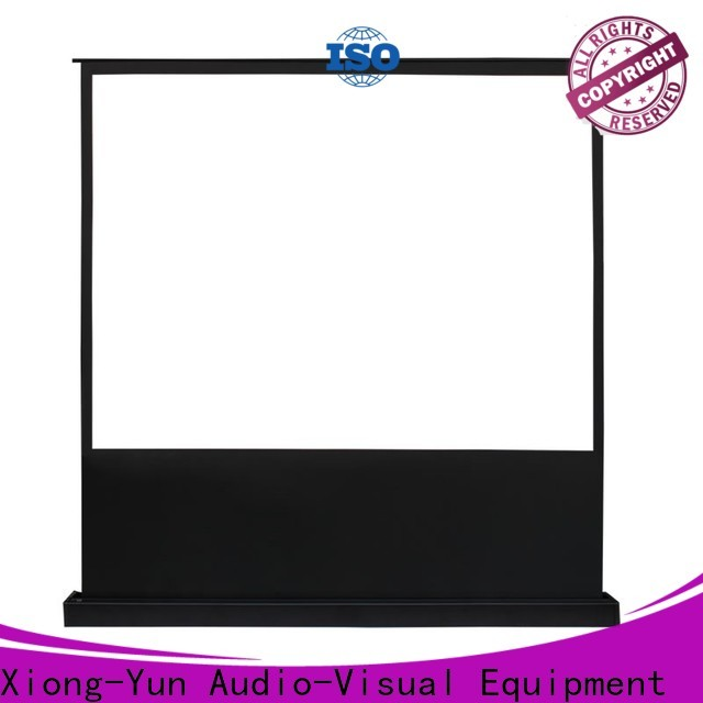 XY Screens electric projection screen price design for indoors