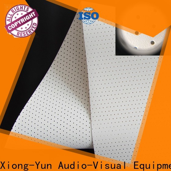 XY Screens transparent 120 acoustically transparent screen manufacturer for projector screen