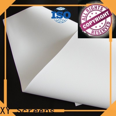 XY Screens projector screen fabric china with good price for thin frame projector screen