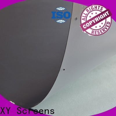 XY Screens flexible front and rear fabric with good price for motorized projection screen