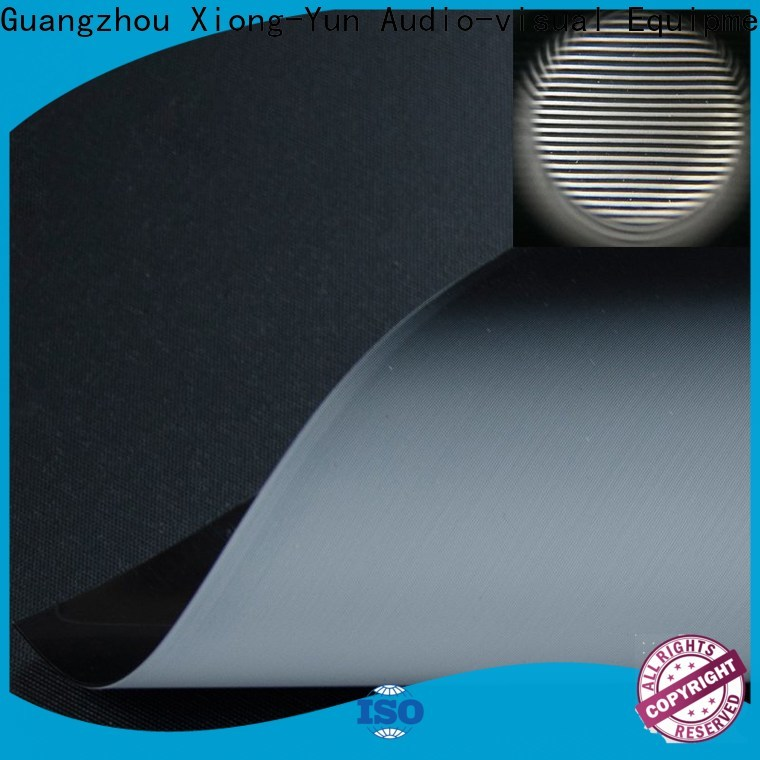light rejecting projector screen fabric manufacturer for thin frame projector screen