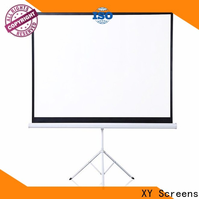 XY Screens adjustable tripod projector screen wholesale for office