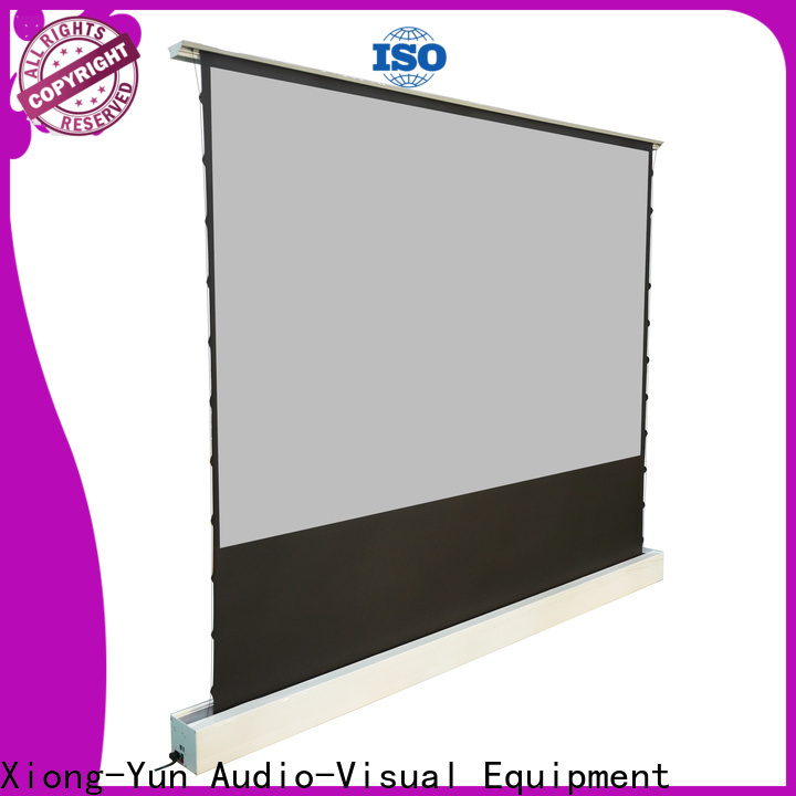 XY Screens rising portable pull up projector screen with good price for household