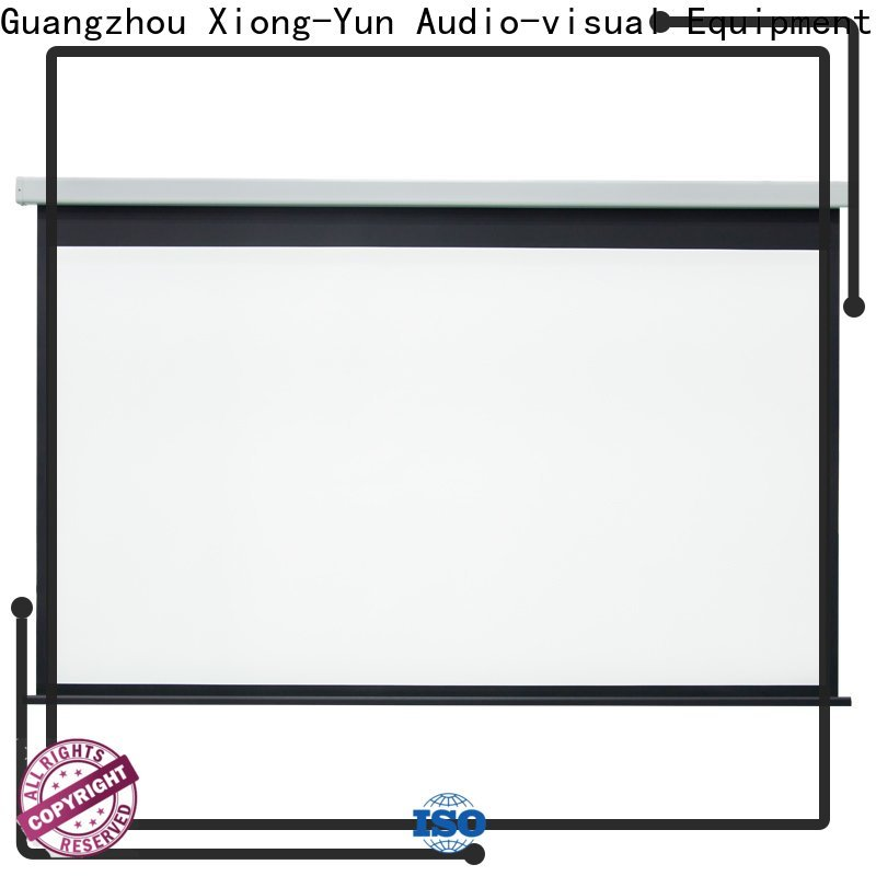 XY Screens stable motorized screens wholesale for indoors