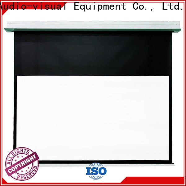 electric theater projector screen with good price for household