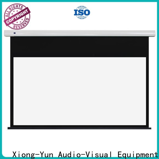 XY Screens fixed projector screen inquire now for home
