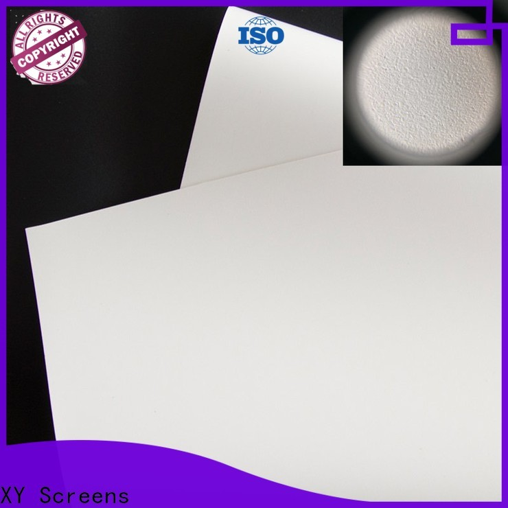 XY Screens normal projector fabric with good price for motorized projection screen