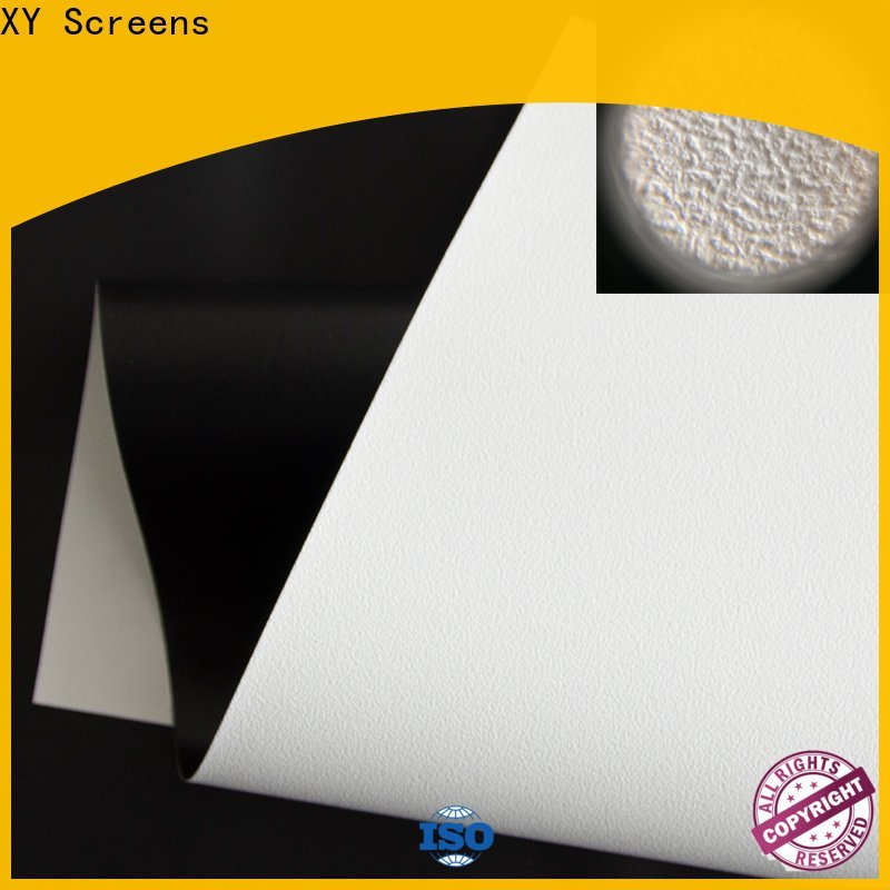 XY Screens professional front fabrics factory for projector screen