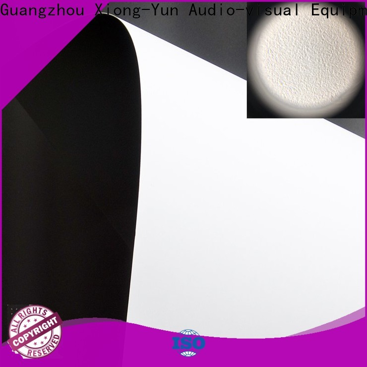 XY Screens professional projector fabric factory for thin frame projector screen